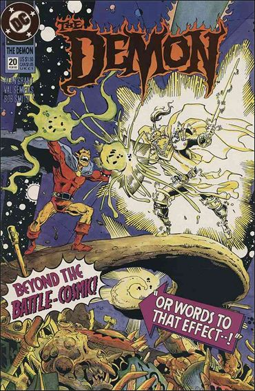 Demon (1990) 20-A by DC