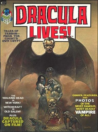 Dracula Lives 1-A by Marvel
