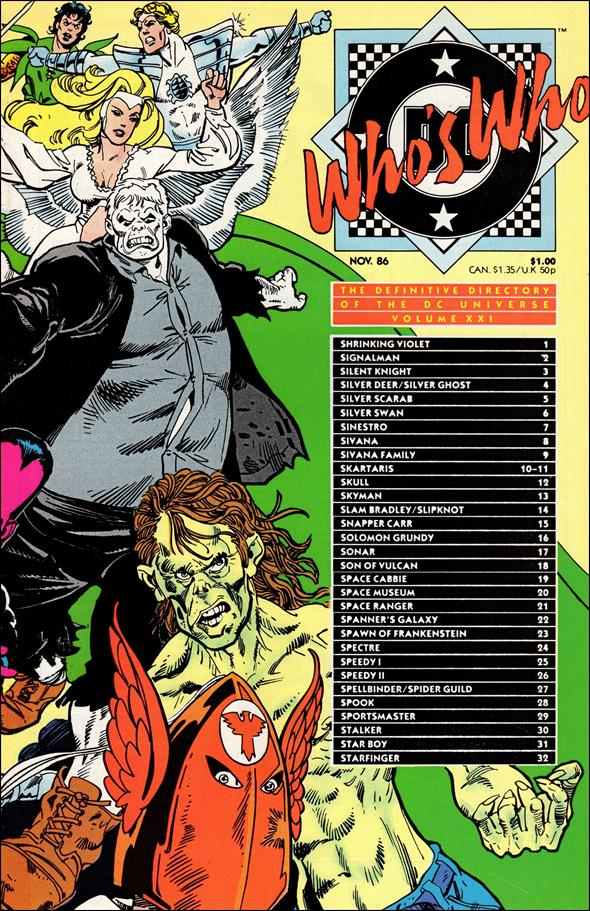 Who's Who: The Definitive Directory of the DC Universe 21-A by DC
