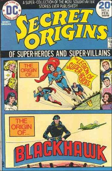 Secret Origins (1973) 6-A by DC
