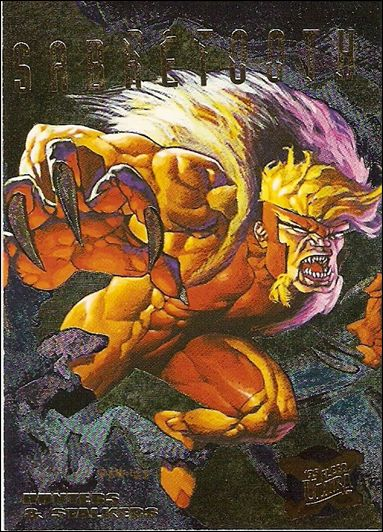 1995 Fleer Ultra X-Men (Hunters & Stalkers Subset) 6-B by Fleer