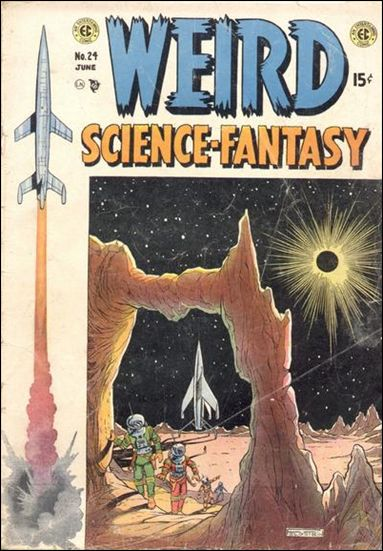 Weird Science-Fantasy (1954) 24-A by E.C.