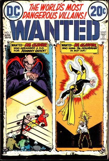 Wanted, the World's Most Dangerous Villains 7-A by DC