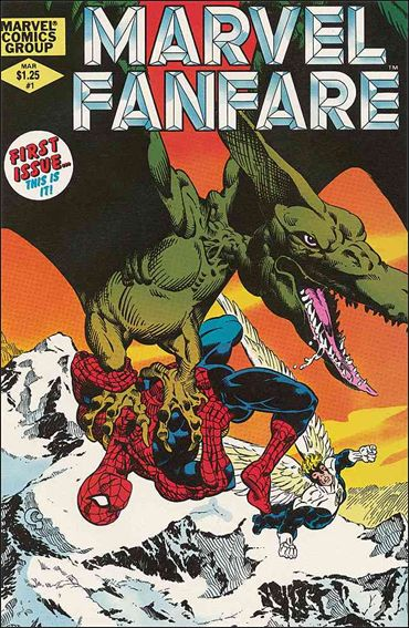 Marvel Fanfare (1982) 1-A by Marvel