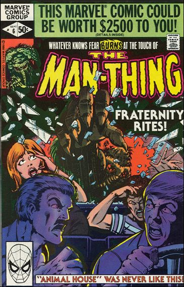 Man-Thing (1979) 6-A by Marvel