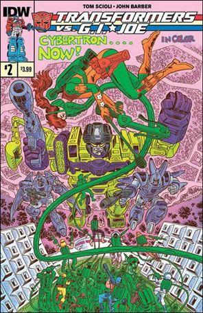 Transformers vs. G.I. Joe 2-A