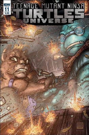 Teenage Mutant Ninja Turtles Universe 11-A