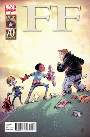 FF (2011) 5-B by Marvel