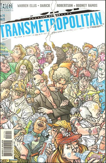 Transmetropolitan 24-A by Vertigo