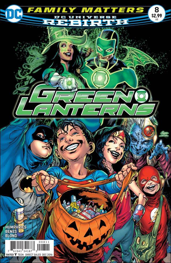 Green Lanterns 8-A by DC