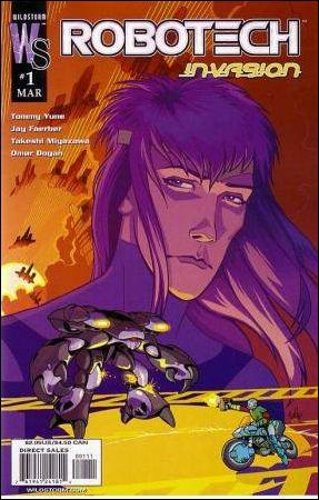 Robotech: Invasion 1-A by WildStorm