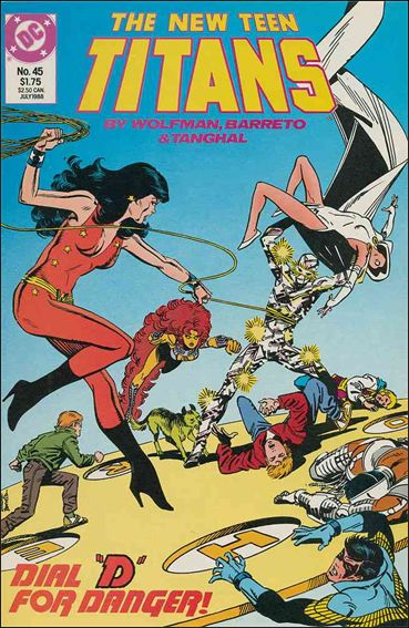 New Teen Titans (1984) 45-A by DC