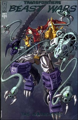 Transformers Beast Wars: The Gathering 1-E by IDW
