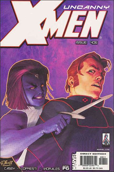Uncanny X-Men (1981) 406-A by Marvel
