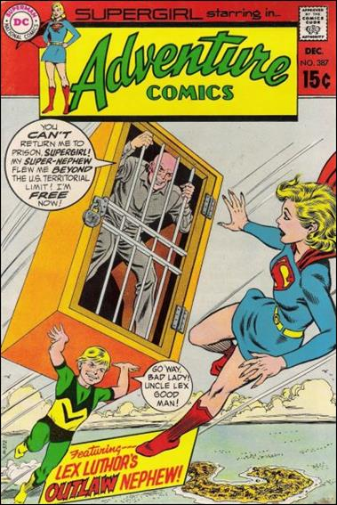 Adventure Comics (1938) 387-A by DC