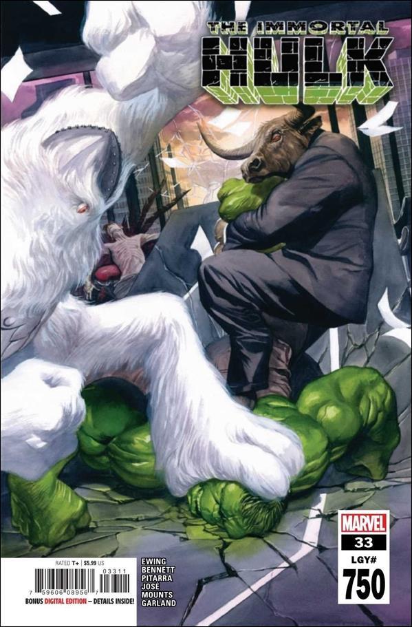 Immortal Hulk 33-A by Marvel