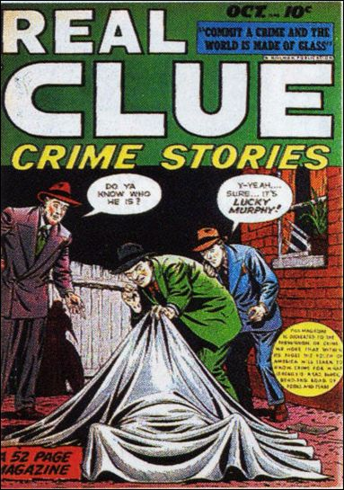 Real Clue Crime Stories (1948) 8-A by Hillman