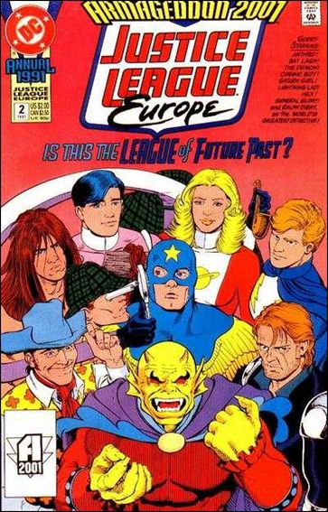 Justice League Europe Annual 2-A by DC