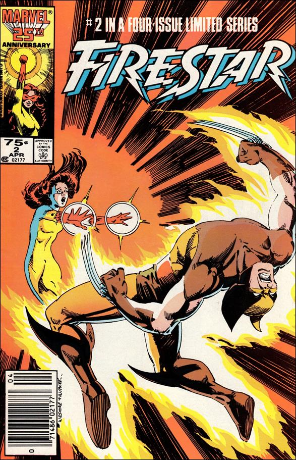 Firestar (1986) 2-A by Marvel