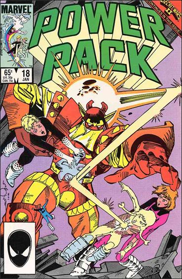 Power Pack (1984) 18-A by Marvel