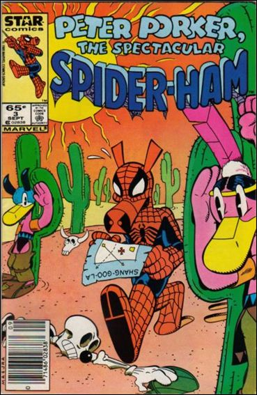Peter Porker, The Spectacular Spider-Ham 3-A by Star