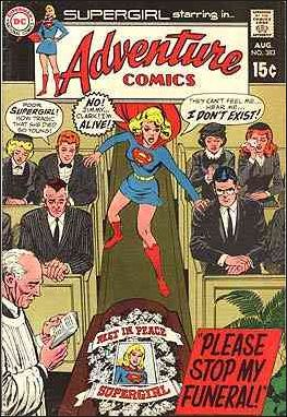 Adventure Comics (1938) 383-A by DC