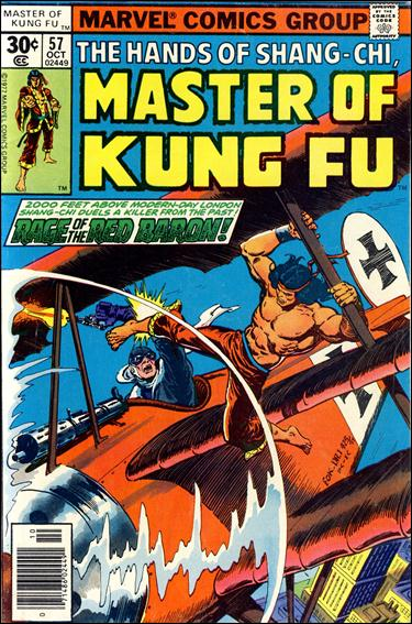 Master of Kung Fu 57-A by Marvel