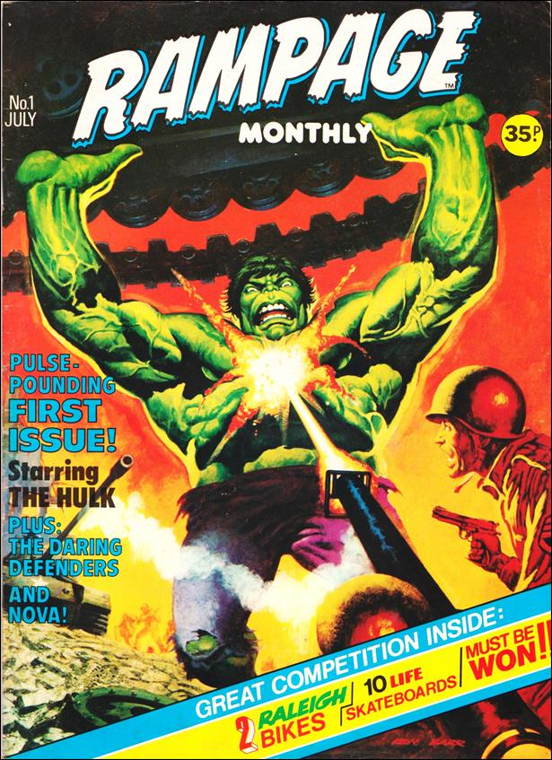 Rampage Monthly (UK) 1-A by Marvel UK
