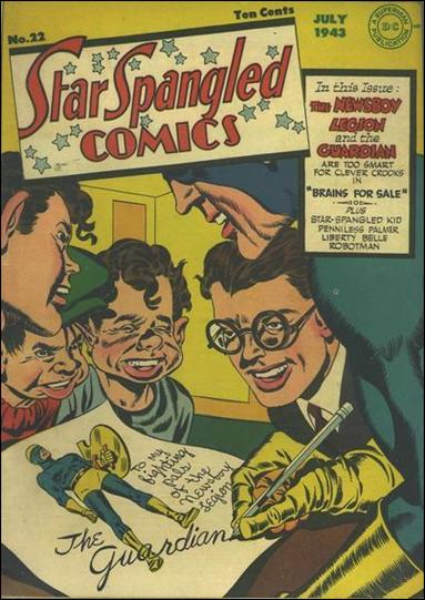 Star Spangled Comics (1941) 22-A by DC