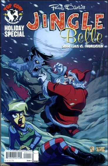 Jingle Belle: Santa Claus vs Frankenstein 1-B by Top Cow