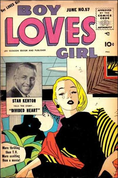 Boy Loves Girl 57-A by Lev Gleason Productions