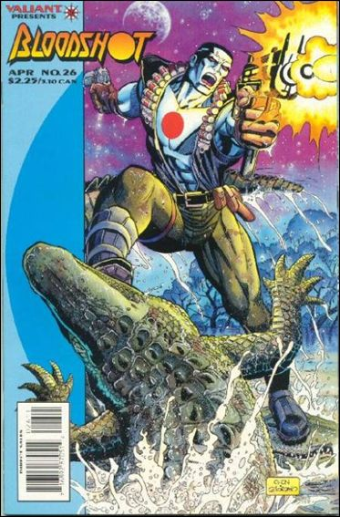 Bloodshot (1993) 26-A by Valiant