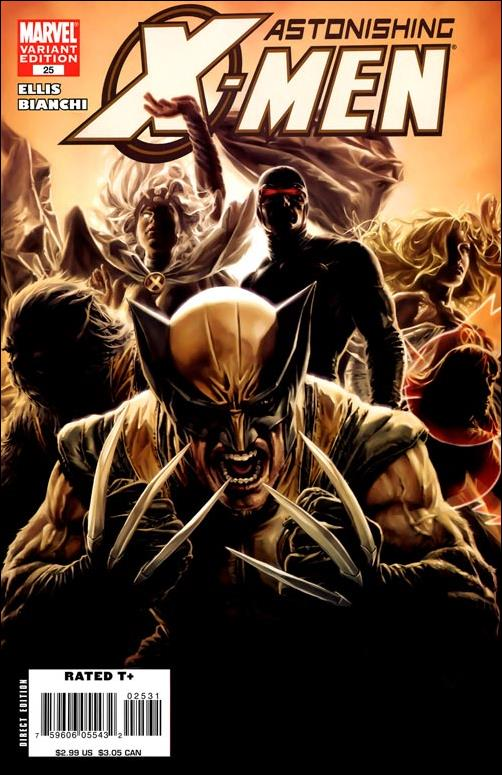Astonishing X-Men (2004) 25-B by Marvel