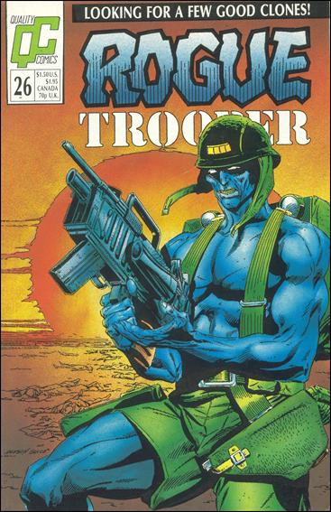 Rogue Trooper (1986) 26-A by Quality Comics