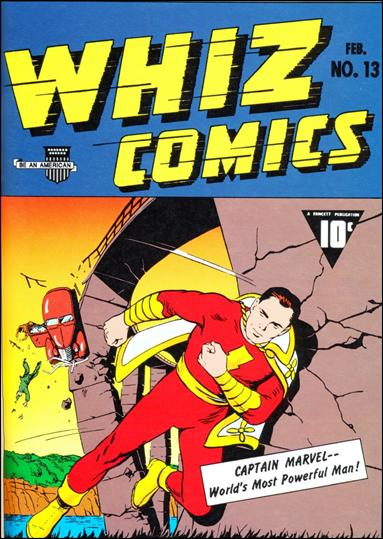 Whiz Comics 13-A by Fawcett