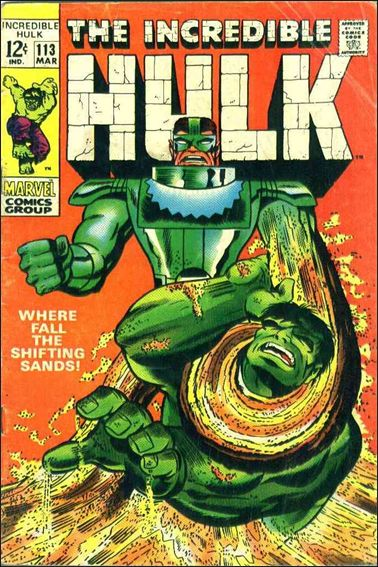 Incredible Hulk (1968) 113-A by Marvel