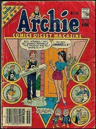 Archie Comics Digest Magazine 55-A