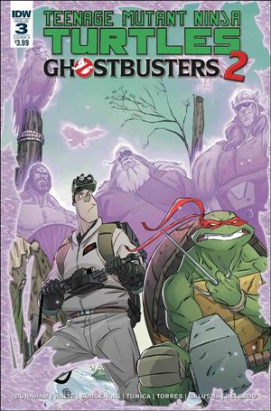 Teenage Mutant Ninja Turtles / Ghostbusters 2 3-A
