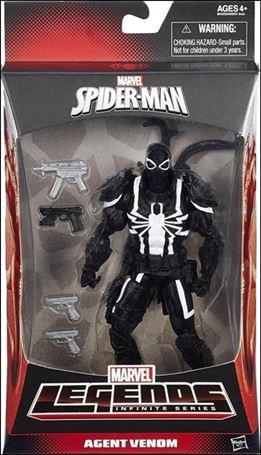Marvel Legends Infinite: Spider-Man (Green Goblin Series) Agent Venom