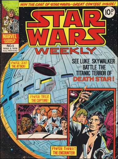 Star Wars Weekly (UK) 5-A by Marvel UK