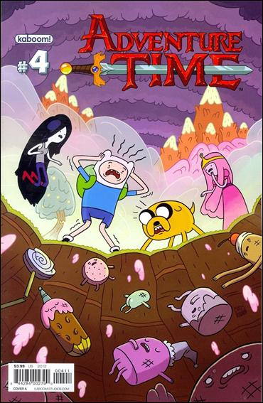 Adventure Time 4-A by Kaboom!