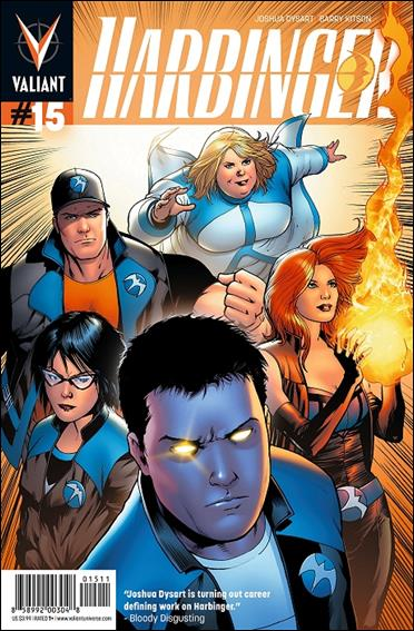Harbinger (2012) 15-A by Valiant Entertainment