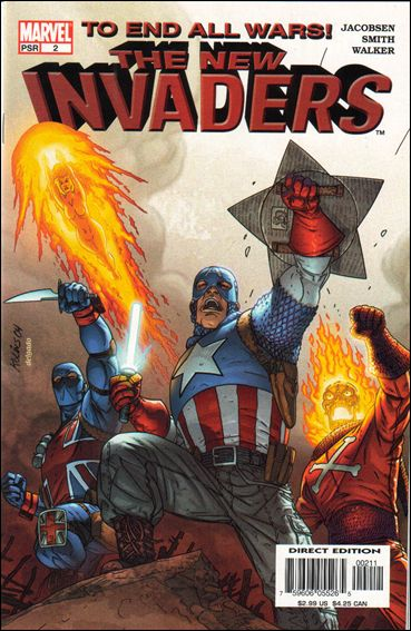 New Invaders 2-A by Marvel