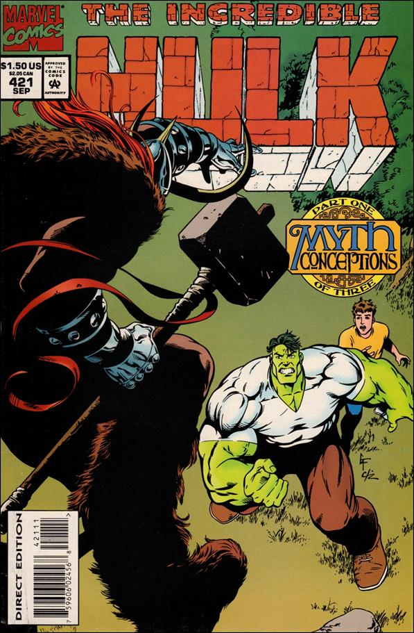 Incredible Hulk (1968) 421-A by Marvel