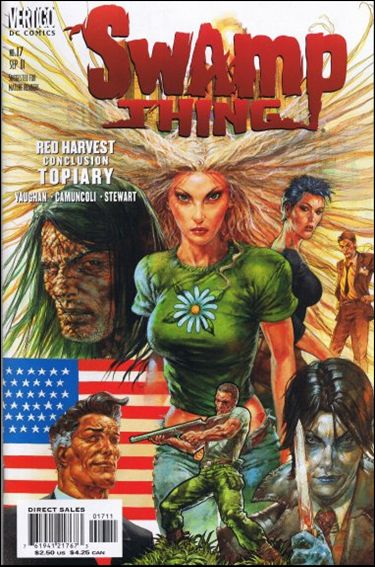 Swamp Thing (2000) 17-A by Vertigo