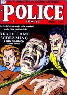 Police Comics 123-A by Comic Magazines
