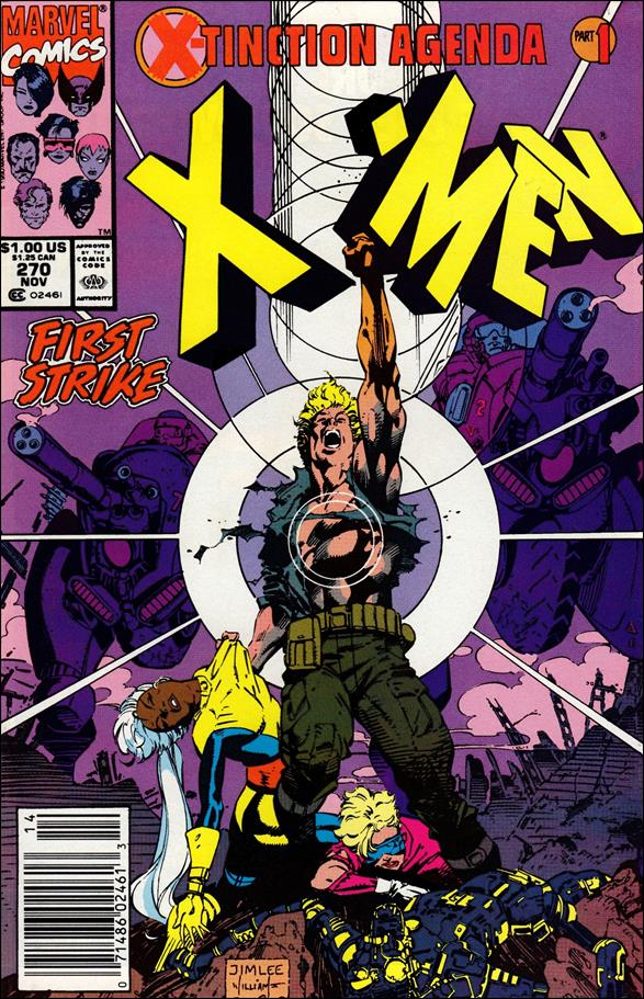 Uncanny X-Men (1981) 270-A by Marvel