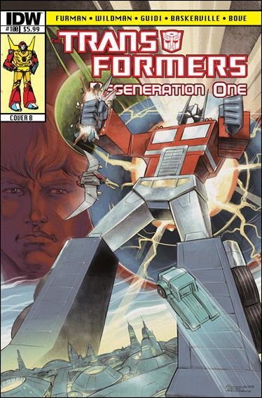 Transformers: Regeneration One 100-B by IDW