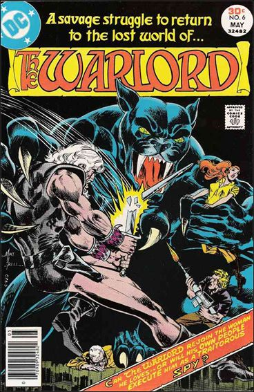 Warlord (1976) 6-A by DC