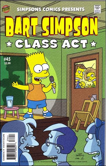 Simpsons Comics Presents Bart Simpson 45-A by Bongo